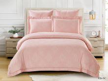 Постельное белье Soft cotton Лен- жаккард 2-спальный Арт.21/026-SC