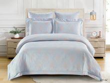 Постельное белье Soft cotton Лен-жаккард евро Арт.31/027-SC