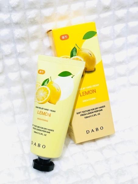 """Крем для рук DABO """"Lemon"""" с экстрактом лимона (КОРЕЯ)"""