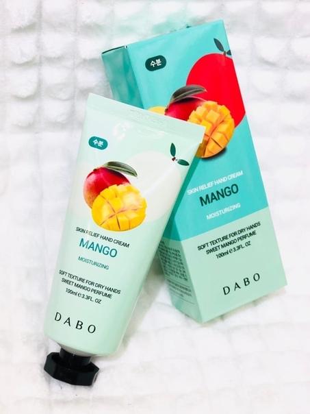 """Крем для рук DABO """"Mango"""" с экстрактом манго (КОРЕЯ)"""