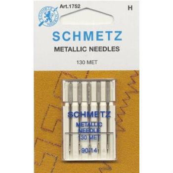 Иглы Schmetz для металлизированных нитей  №90 (5шт.)
