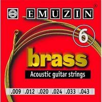 EMUZIN 6А102 (09-43) Струны для акустической гитары