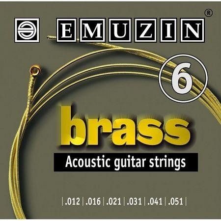 EMUZIN 6А104 (12-51) Струны для акустической гитары
