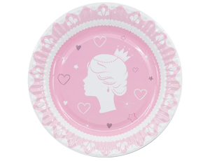 Тарелки Принцесса, с Днем Рождения