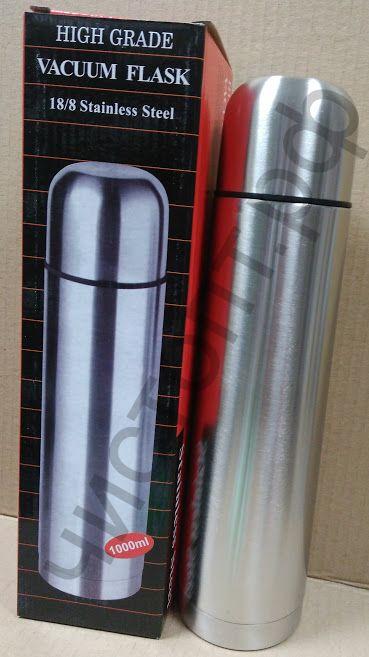 Термос классический с узким горлом 1000 ml