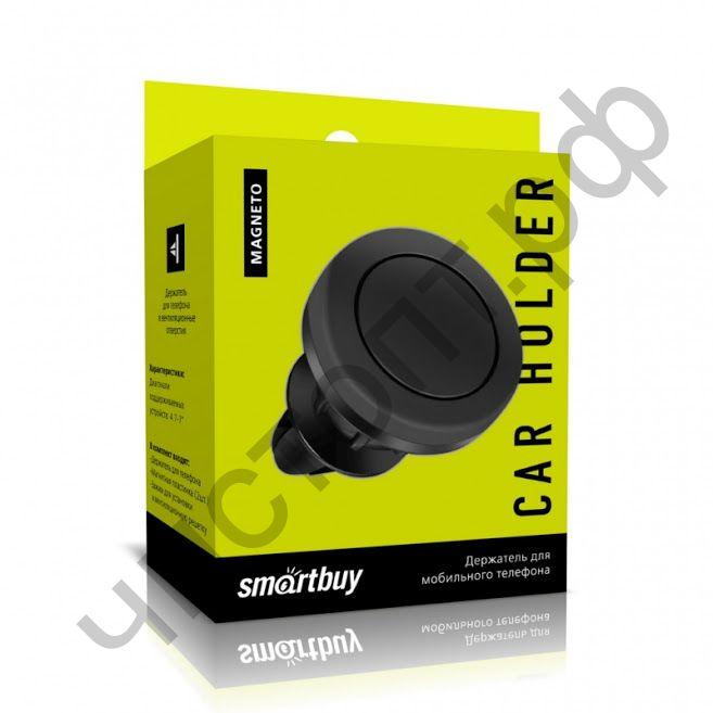 Держатель для мобил. устр. Smartbuy Magneto-45,в воздуховод , 2 пластинки до 150 гр. (SBCH-5004)