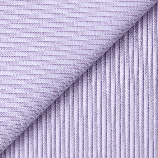 Лоскут трикотажной ткани кашкорсе Светло-сиреневый 50х30
