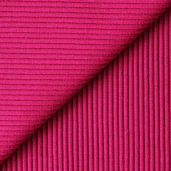 Лоскут трикотажной ткани кашкорсе Фуксия