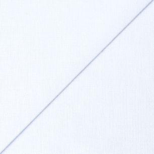 Хлопок однотонный  - Белый 50х40
