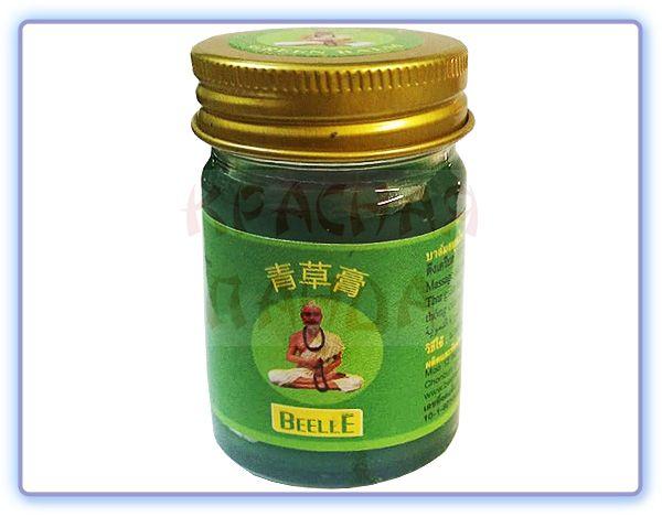 Зеленый тайский бальзам Mho Shee Woke