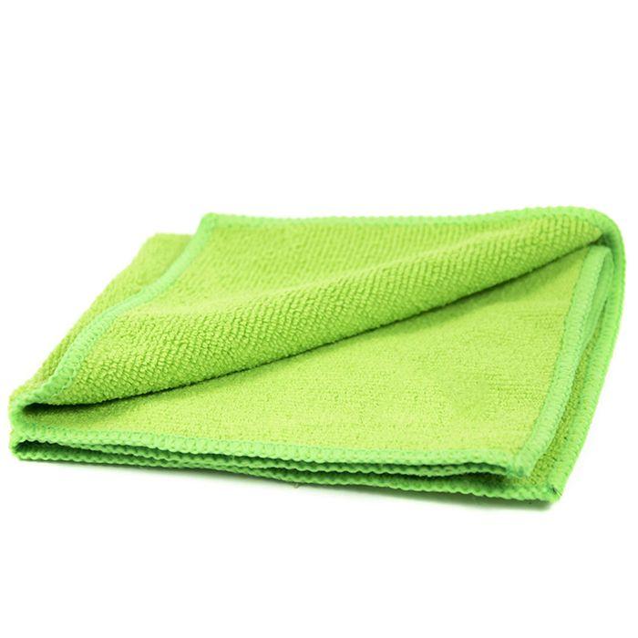 Jeta Microfiber Green Полировальные салфетки многоразовые из микрофибровой ткани, 40см. х 40см., цвет: зеленый