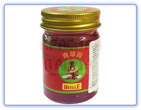 Красный тайский бальзам Mho Shee Woke