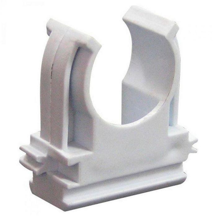 Крепеж-клипса для гофрированных труб 25мм