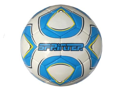 Мяч футзальный SPRINTER , пресскожа с полимерным покрытием., без отскока, 12313