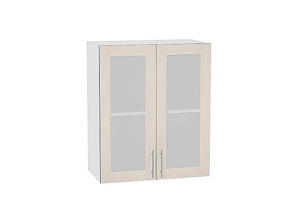 Шкаф верхний Сканди В600 со стеклом Cappuccino Softwood