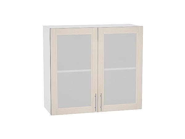 Шкаф верхний Сканди В809 со стеклом Cappuccino Softwood
