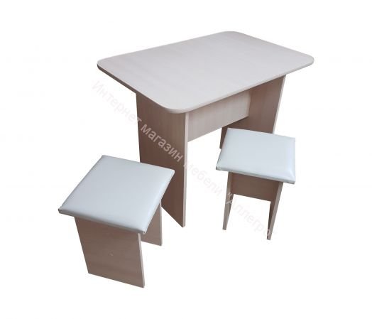 "Кухонный стол с 2-мя табуретами ""Техномебель"""