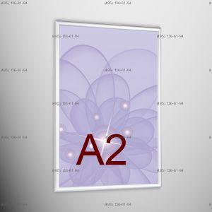 Световая панель Frame LED Framelight Classic (фреймлайт), односторонняя, формат A2, 420х594 мм