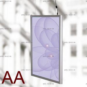 Световая панель Frame LED Framelight Classic (фреймлайт), двусторонняя, формат AA, 1000х1500  мм