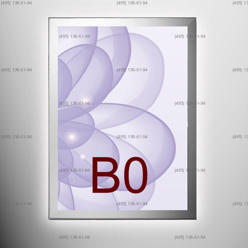 Световая панель MAGNETIC, односторонняя, формат B0, 1000х1400 мм