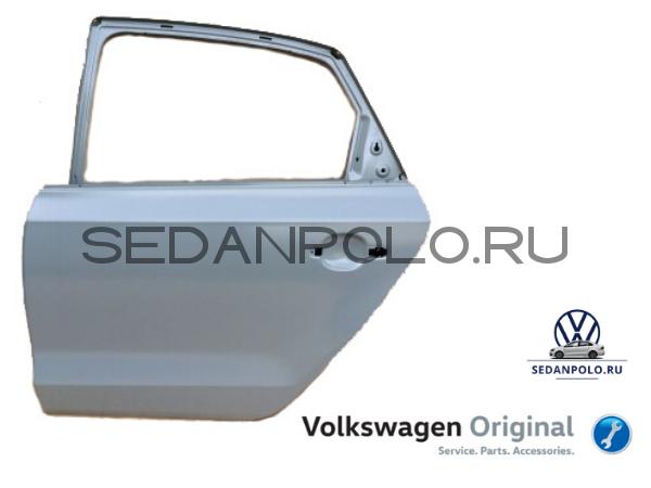 Дверь задняя левая Оригинал Volkswagen Polo Sedan