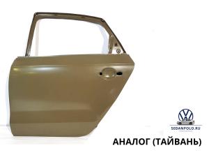 Дверь задняя левая Аналог Volkswagen Polo Sedan