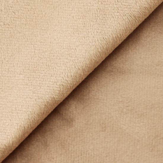Ткань плюш бежевый 48х48 см