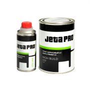 Jeta Грунт акриловый 4:1 с отвердителем HIGH BUILD UHS, серый, 800мл. + 200мл.