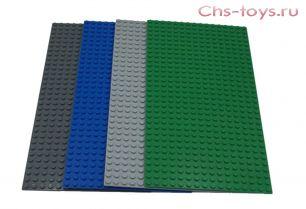 Строительная пластина для конструкторов 25,5*12,5