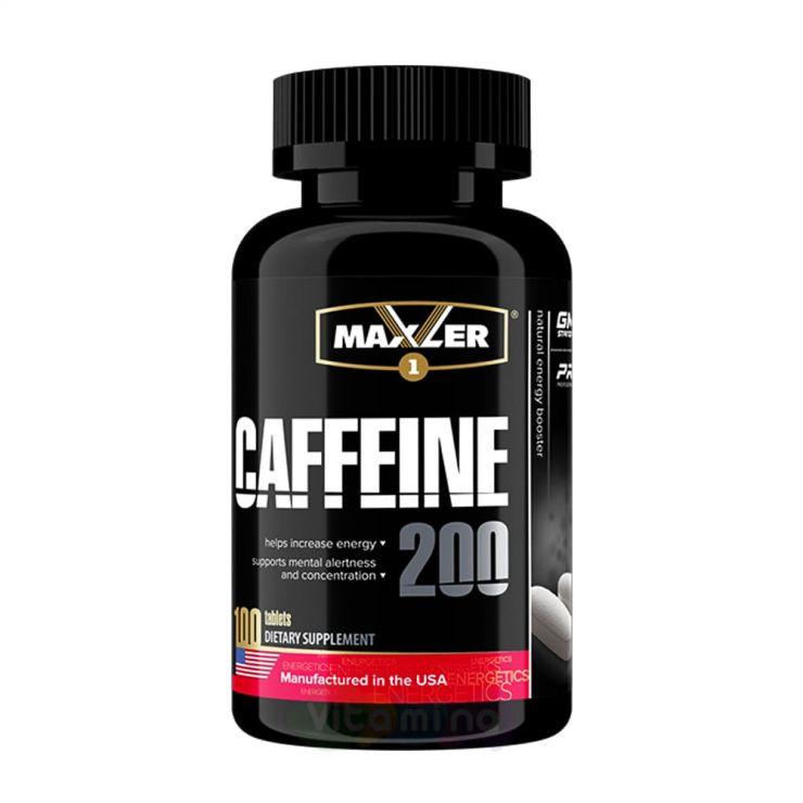 Maxler Caffeine 200 мг, 100 табл