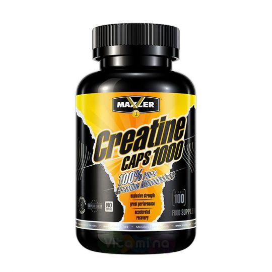 Maxler Creatine Caps 1000 мг, 100 капс