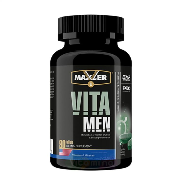 Maxler Витамины для мужчин VitaMen, 90 табл