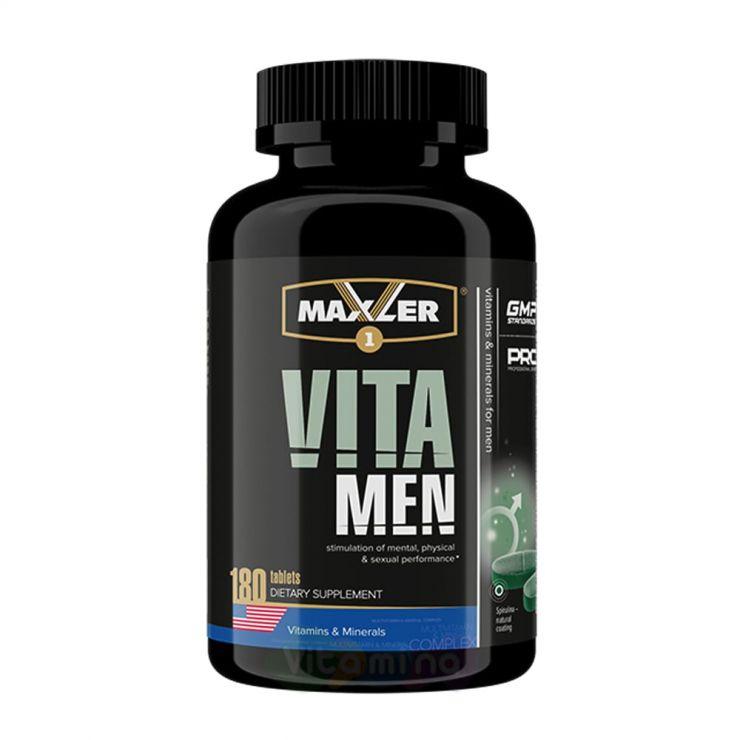 Maxler Витамины для мужчин VitaMen, 180 табл