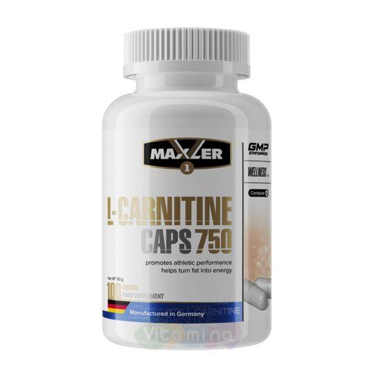 Maxler L-Carnitine 750 mg, 100 капс