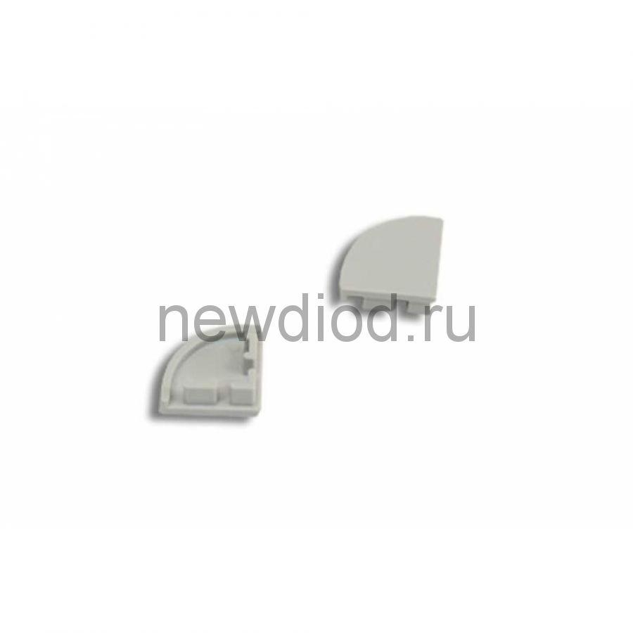 Заглушка для профиля 1616 без отверстия REXANT