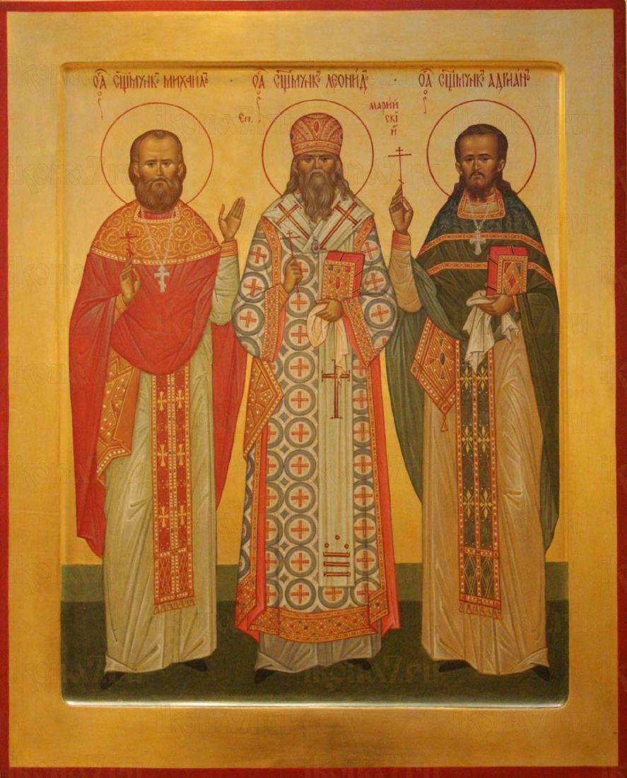 Икона Адриан Троицкий священномученик