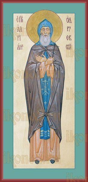 Икона Адриан Ондрусовский преподобномученик