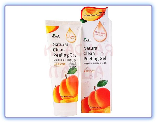 Ekel Apricot Natural Clean Peeling Gel