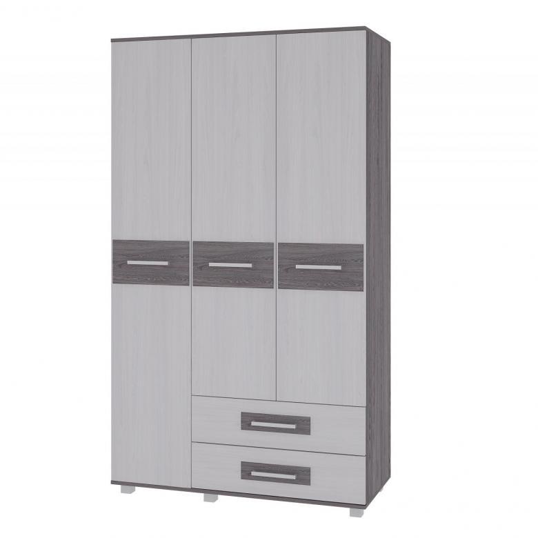Вега М-4 Шкаф 3-х дверный с ящиками