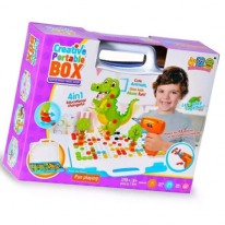 Конструктор-мозаика Creative Portable Box, 198 деталей