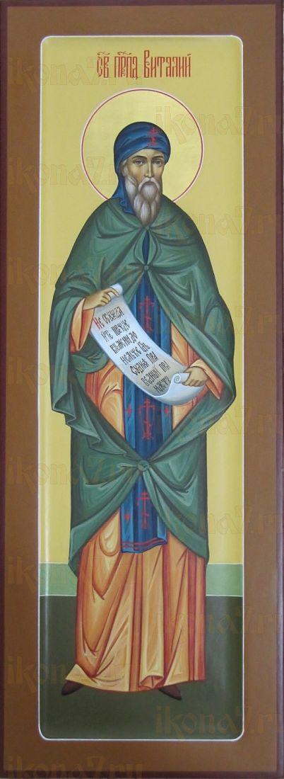 Икона Виталий Александрийский преподобный