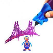 Набор для объёмного рисования I Do 3D Vertical, 3 ручки, фиолетовый