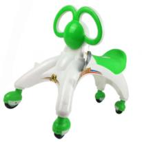 Беговел-каталка для малышей, зелёный
