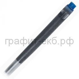 Картридж Parker 5шт/уп. синий/черный 1950385