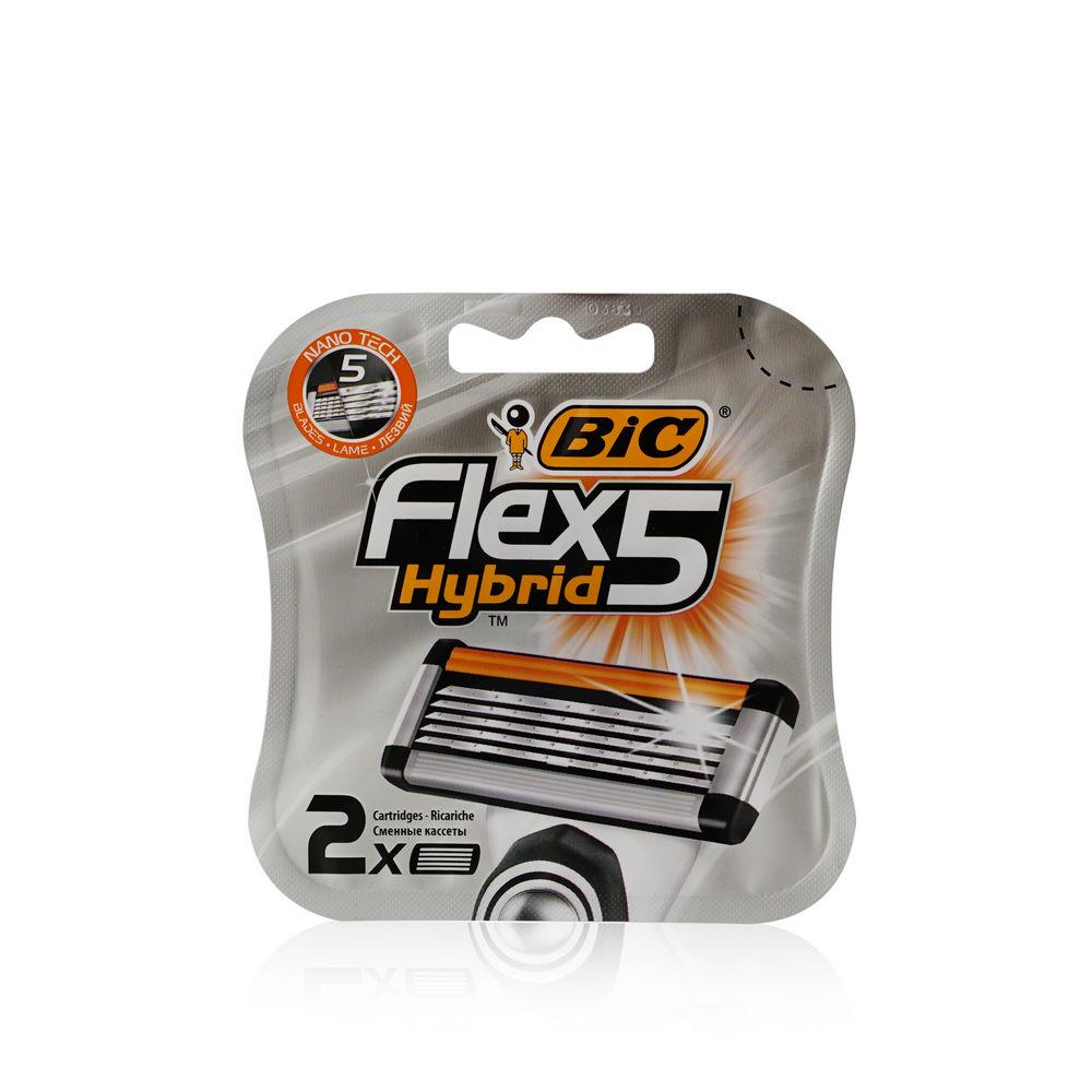Bic Flex 5 Hybrid сменные кассеты (2 шт)