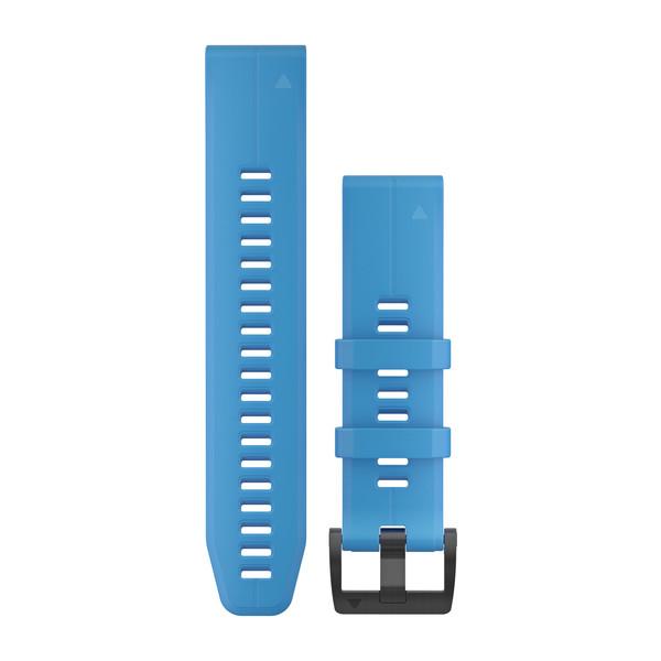 Ремешок сменный QuickFit 22мм Силиконовый голубой