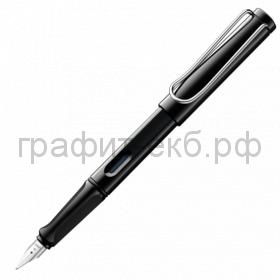 Ручка перьевая Lamy Safari черный M 019