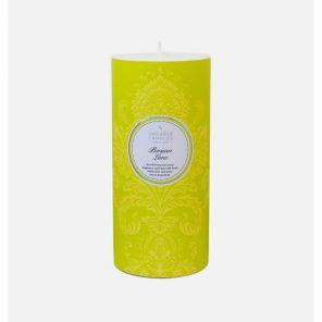 """Шотландская ароматическая свеча-колонна """"Персидский Лайм"""" PERSIAN LIME PILLAR CANDLE."""