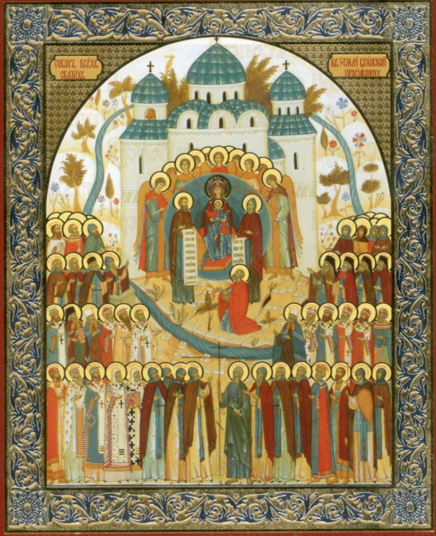 Икона Собор Брянских святых