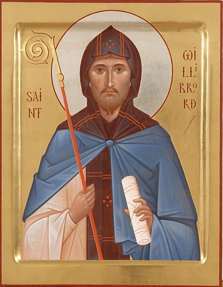 Икона Виллиброрд Климент святой